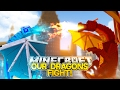 Minecraft Adventure - ROPO & JACKS DRAGONS FIGHT!!