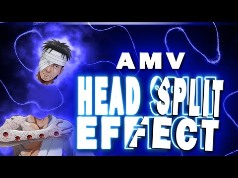Character's Head Split Tutorial | After Effects AMV Tutorial | Anime Oxime