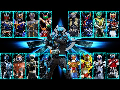 Secondary Rider Final Form (G3-X - Deep Specter) - YouTube