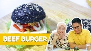 Resep Beef Burger Homemade ala Dapur Adis