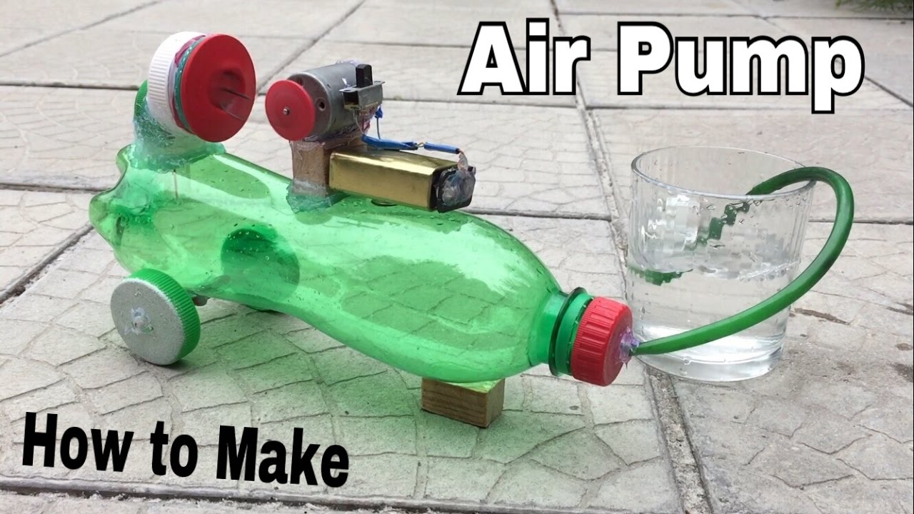 How To Make A Mini Air Compressor Powerful Air Pump