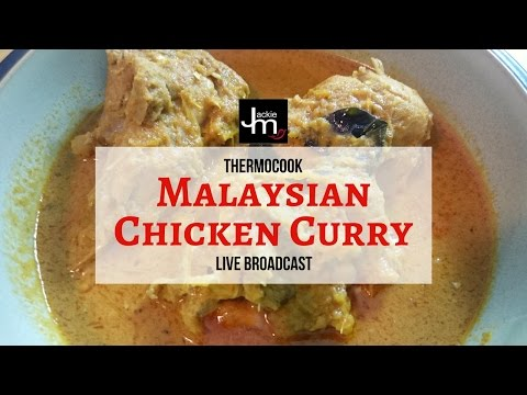 Thermocook Malaysian Chicken Curry (Live Broadcast)