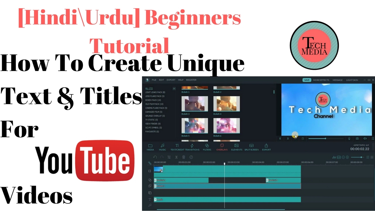 [ Hindi / Urdu ] Tutorial: How to Create Unique Text and ...