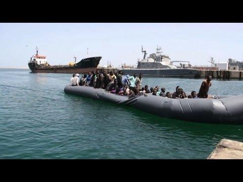 Libya rescues 168 migrants stranded at sea