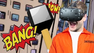 UCIEKAM DRUGI RAZ - Prison Boss VR (#7) HTC VIVE VR