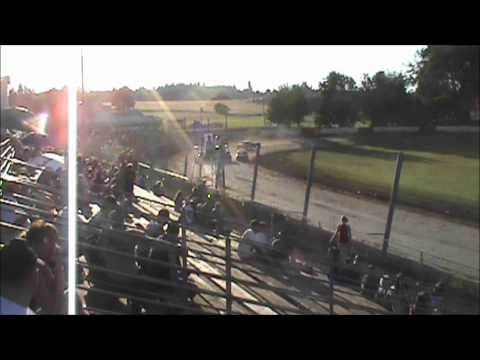 4 Cylinder racing at River City Speedway #4 7/7/12 (Trophy Dash)