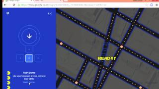 How to Play PAC-MAN game in Google Maps April Fools