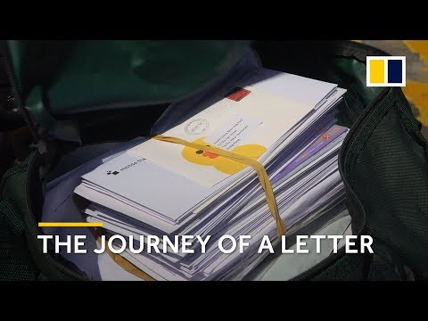 Behind the scenes: the journey of a letter in Hong Kong