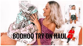 HUGE BOOHOO TRY ON HAUL 🇮🇹