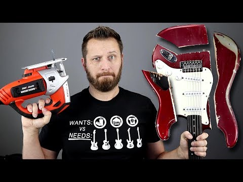 Do Heavier Guitars *REALLY* Sustain Longer? - Let's Find Out!!