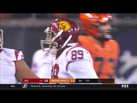 Football: USC 38, OSU 21 - Highlights 11/03/2018