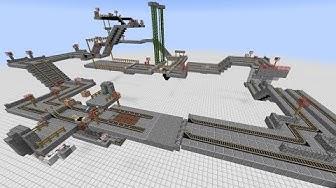 Minecraft: Slot Car Racing Mini-Game (14w11b only)