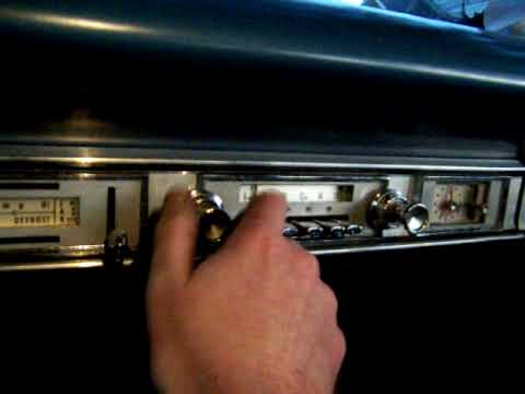 1964 Ford Galaxie Radio - YouTube