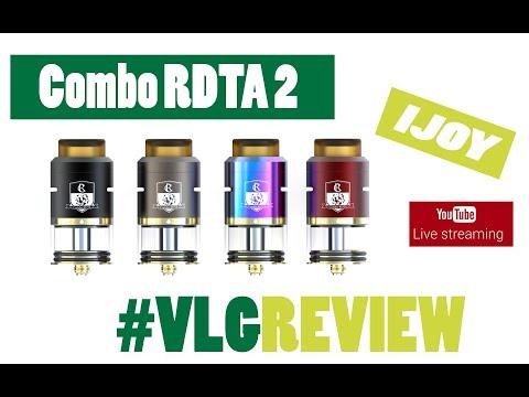 IJOY Combo RDTA 2 - Vapelikegeek Live Greek Review