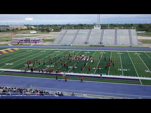 Progreso High School Marching Band at the San Benito Marching Band Festival 2019