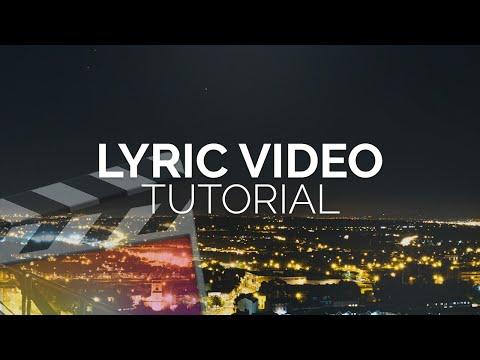 How To Make A Lyric Video - Final Cut Pro X