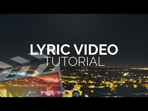 How To Make A Lyric Video - Final Cut Pro X