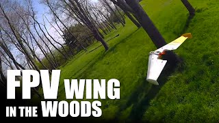FPV Wing in the Woods | Flite Test