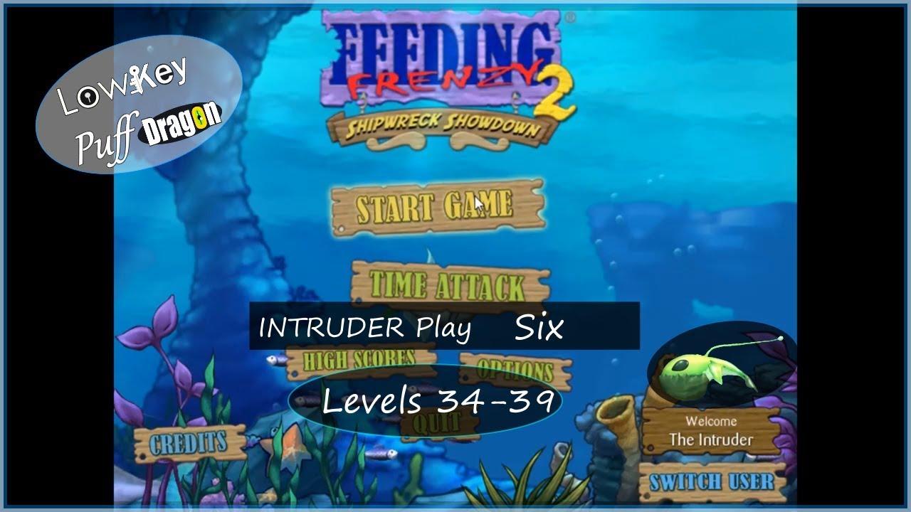 Download Feeding Frenzy 2 - Shipwreck Showdown - INTRUDER Play Six (Levels 34 - 39)
