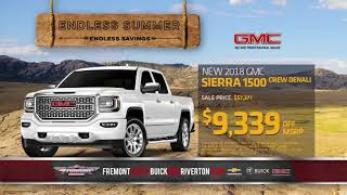 Get Endless Savings at Fremont Chevy Buick GMC!