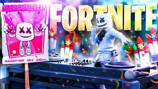 REACCIONANDO al EVENTO de MARSHMELLO en FORTNITE - TheGrefg
