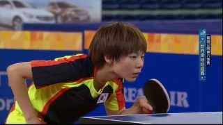 2015年韓國公開賽女子單打8強賽:CHOI Hyojoo VS佐藤仁美.