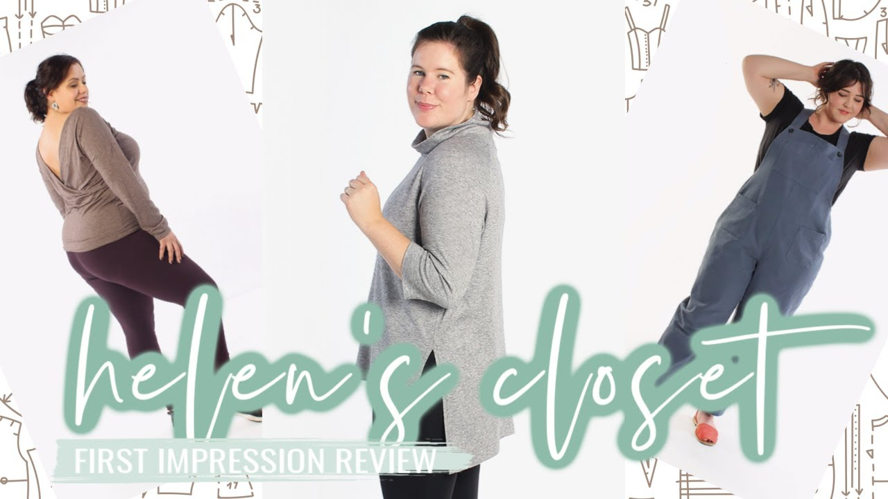 Helen's Closet Patterns  |  First Impression Review