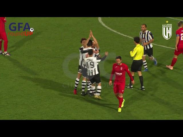 VICTORIA HOTSPURS FC VS GHAJNSIELEM FC: 3-2