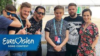 AWS singt Alina ein Punkrock-Lullaby | Ungarn | Eurovision Song Contest