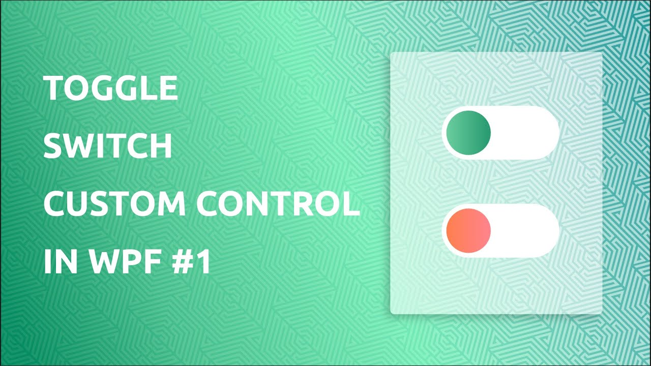 Switch type wpf togglebutton/radiobutton (on/off) control.