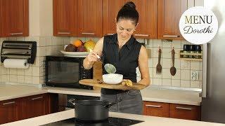 Zupa krem z cukinii. Ciekawy pomysł na szybki obiad. MENU Dorotki.