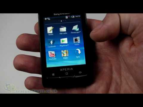 Sony Ericsson Xperia X10 mini unboxing video