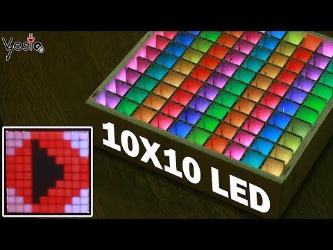 Kako napraviti displej od 100 pixela DIY