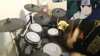 Naruto OP 4 - Drum Cover [Go!!! - Flow]