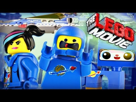 "The LEGO Movie : 70816 ""Benny's Spaceship, Spaceship, SPACESHIP!"" - Review"