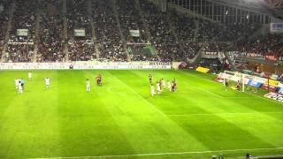 2010.10.23 ヴィッセル神戸vs名古屋グランパス ダニルソンのゴール
