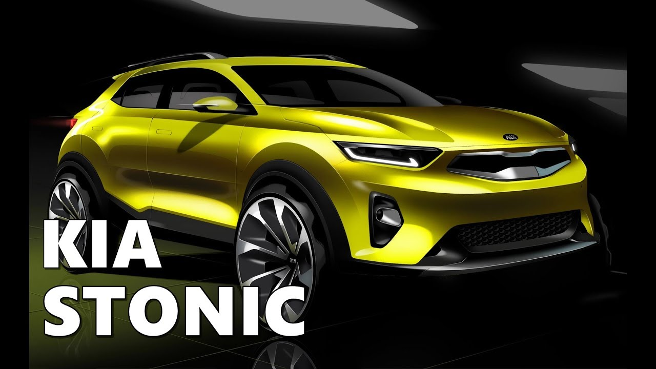 Compact Suv Australia >> 2018 KIA Stonic Preview - YouTube