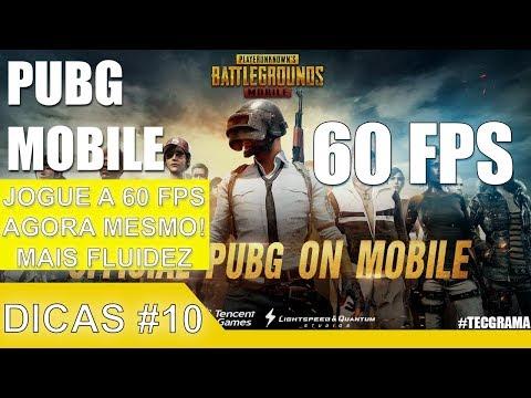 PUBG Mobile - Dicas #10   Jogue a 60 FPS   Libere AGORA para ter uma Melhor Fluidez no jogo!