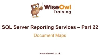 Reporting Services (SSRS) Part 22 - Document Maps