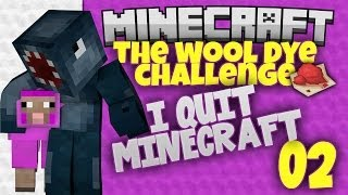 Minecraft Xbox - Wool Dye Challenge - I Quit Minecraft [2]