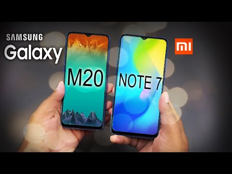 Samsung Galaxy M20 Vs Redmi Note 7- Kon hai Don ?