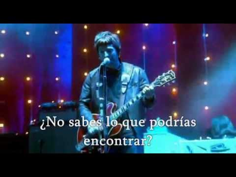Oasis Don T Look Back In Anger Traducida En Español Youtube