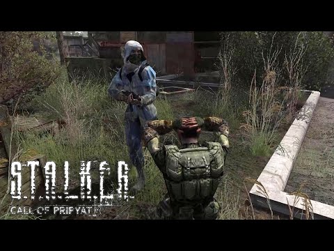 Clear Sky Attacks the Military Base! S.T.A.L.K.E.R.: Call of Pripyat NPC Wars /Anomaly Mod |