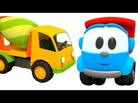 Leo el Pequeño Camión - Leo y la Hormigonera