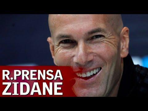 Real Madrid-Deportivo | Rueda de prensa completa de Zidane | Diario AS