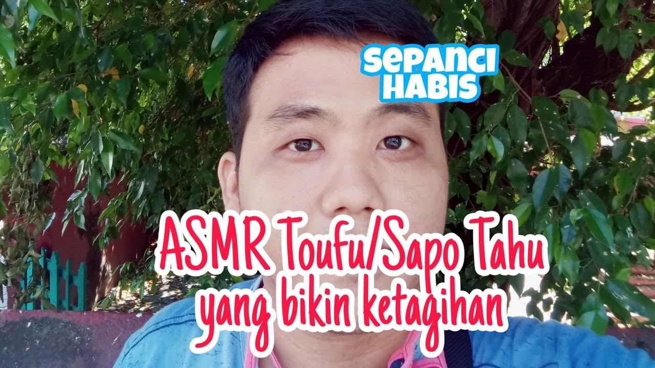 ASMR Toufu Eating Sounds -ASMR Indonesia
