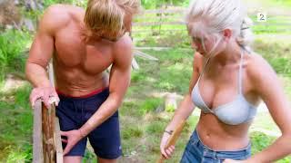 Farmen: Mats og Amalie går på bærtur