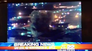Gas explosion Springfield Ma Worthington St 11/23/12