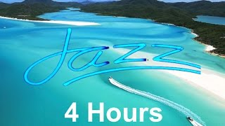 Jazz instrumental: 4 hours of smooth elevator music playlist for relaxing happy summer chill out