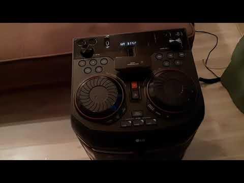 Мощьный музыкальный центр LG 65 просто сказка